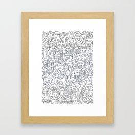 Neighborhood II Framed Art Print
