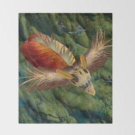 Flying Low Throw Blanket