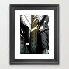 Bridging Boroughs Framed Art Print