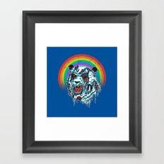 Zombie Panda Framed Art Print