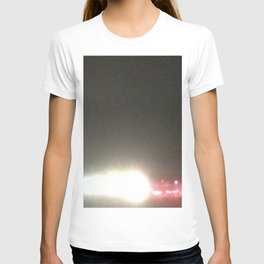 Abstracte Light Art in the Dark 5 T-shirt