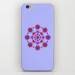 Shuriken Lotus Flower v3 iPhone Skin