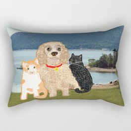 Bailey and Buds Rectangular Pillow