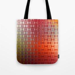 Tricky Pattern  (orange) Tote Bag
