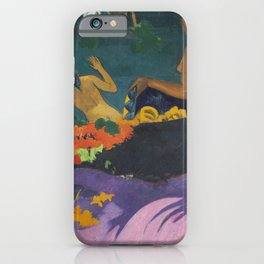 Paul Gauguin Landscape Painting - Fatata te Miti iPhone Case