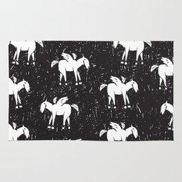 Pegasus Block Print Rug