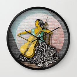 Mariah Wall Clock