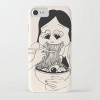 ramen iPhone & iPod Cases featuring I Heart Ramen by Amy Consolo