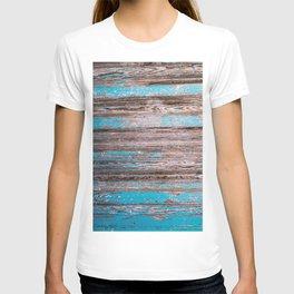 Old Blue Wood T-shirt