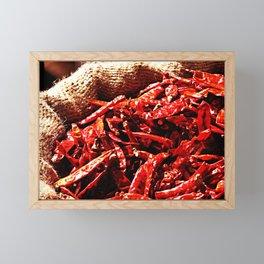 Hot Chili Peppers Framed Mini Art Print