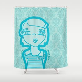 MARGOT (duvet) Shower Curtain