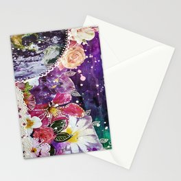 Scattering Stars Like Dust Stationery Cards
