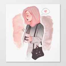Coffee Luv Canvas Print