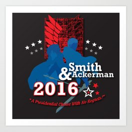 Smith/Ackerman 2016 Art Print