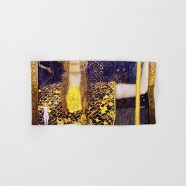 12,000pixel-500dpi - Gustav Klimt - Pallas Athena - Digital Remastered Edition Hand & Bath Towel
