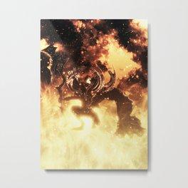 Manus  Metal Print