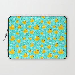 Rubber Ducks and Bathtime Bubbles Laptop Sleeve