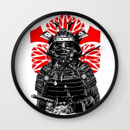 Bushi Trooper Wall Clock