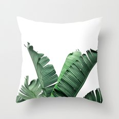 TROPIC - BANANA LEAF Throw Pillow