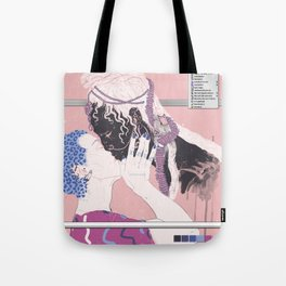 Long distance cyber love Tote Bag