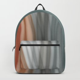 Pretty Pastel Bands Backpack