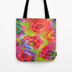 fresh and vivid floral Tote Bag