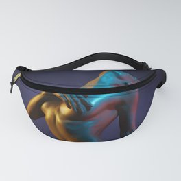 Nude Woman Bathed in Light Fanny Pack