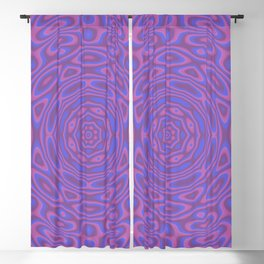Funky Kaleidoscope Blackout Curtain
