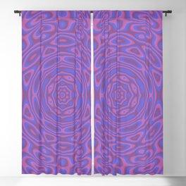 Funky Kaleidoscope Blackout Curtain