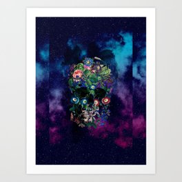 Colorful Skull Art Print