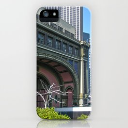 Lower Manhattan, Battery Ferry Terminal iPhone Case