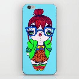 Geek Baby iPhone Skin