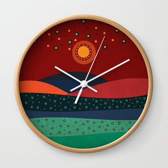 Textures/Abstract 140 Wall Clock