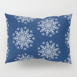 RB Mandala Design with botanical elements Pillow Sham