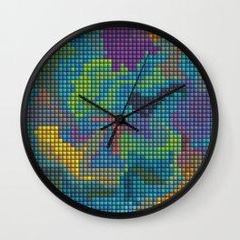 Cera Color Art Wall Clock