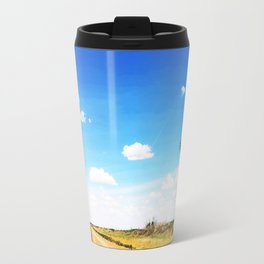 Windmill in the Texas Panhandle Travel Mug