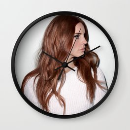 Lana Del Rey4 Wall Clock