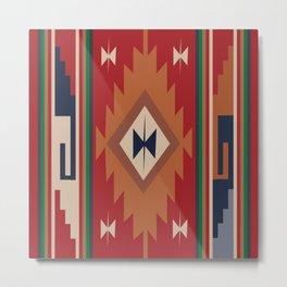 American Native Pattern No. 19 Metal Print