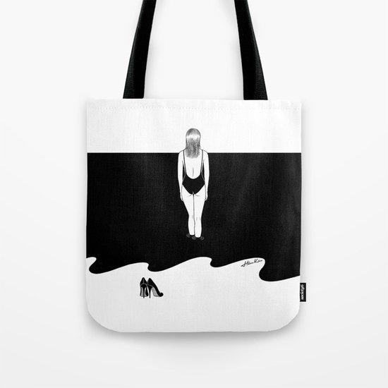 Back to Black Tote Bag