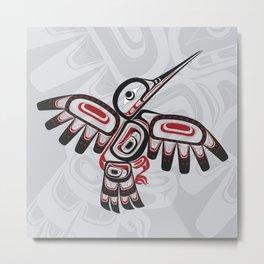 Hummingbird Lund Metal Print