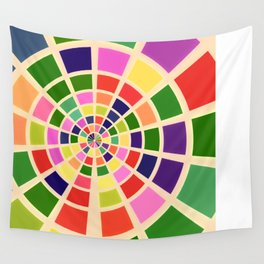 Roue multicolore Wall Tapestry