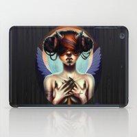 luna iPad Cases featuring Luna  by Christina Dias