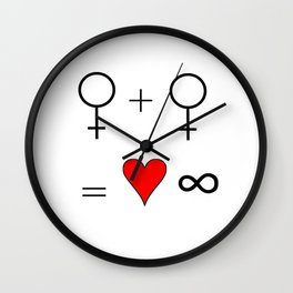 woman woman 2 Wall Clock