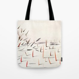 Sticks and Shadows on the North Thompson Tote Bag
