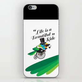 Life is a Beautiful Ride iPhone Skin