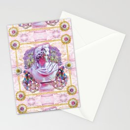 sweet pale pink prince Stationery Cards