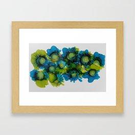Sea Blooms Framed Art Print