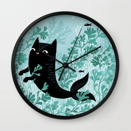 Undersea (Mint Remix) Wall Clock