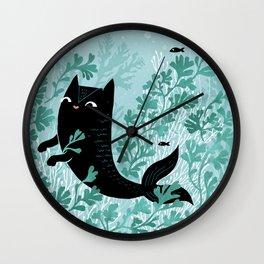 Undersea (Mint Remix) Wall Clock