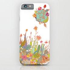 cactus garden iPhone 6s Slim Case